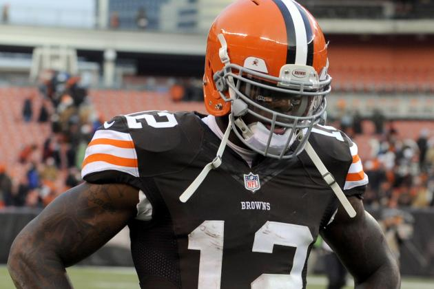 Browns' Josh Gordon Not Among Top-10 Pro Bowl Vote Getters at WR