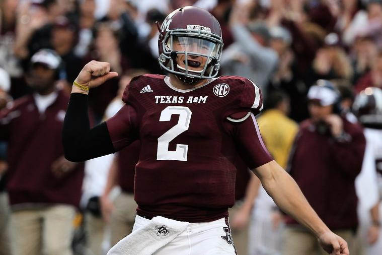 SEC Football Q&A: More Likely, Johnny Manziel Staying or Nick Saban Leaving?