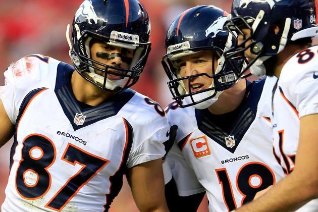 Peyton Manning Attends Snowy Broncos Walk-Through, Misses Practice