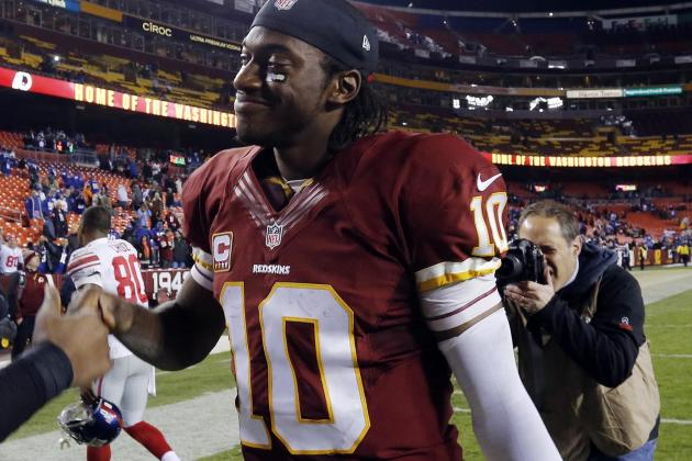 Washington's Robert Griffin III Gives Chiefs Plenty to Worry About