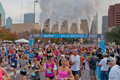 Dallas Marathon 2013: Route, Start Time, Date, TV Info and Live Stream