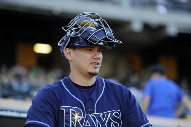 Report: White Sox Have Interest in Rays' Catcher Lobaton