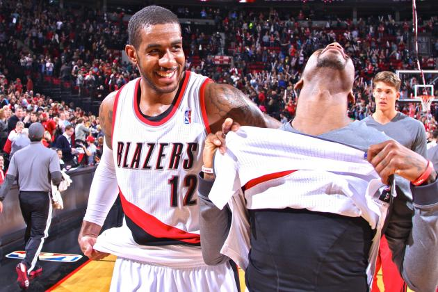 Portland Trail Blazers Riding LaMarcus Aldridge's Monster Season to Top of West