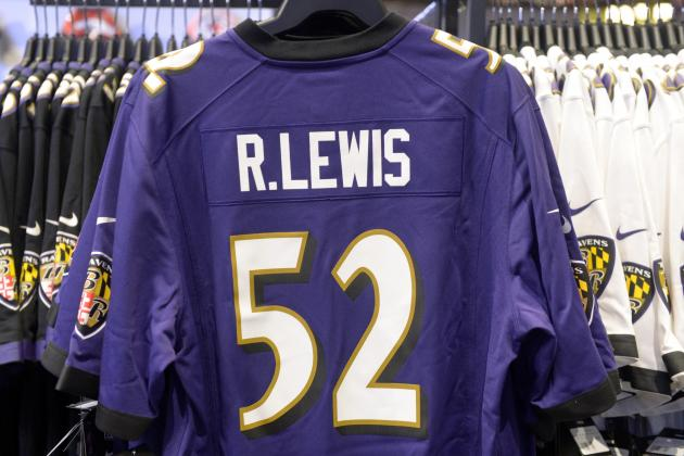 Ray Lewis Is Beating Eli Manning in NFL Jersey Sales
