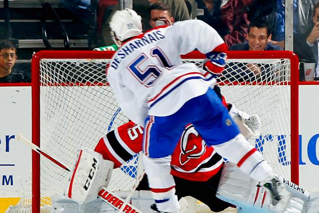 Desharnais Proves His Worth to Habs in Edging out the Devils