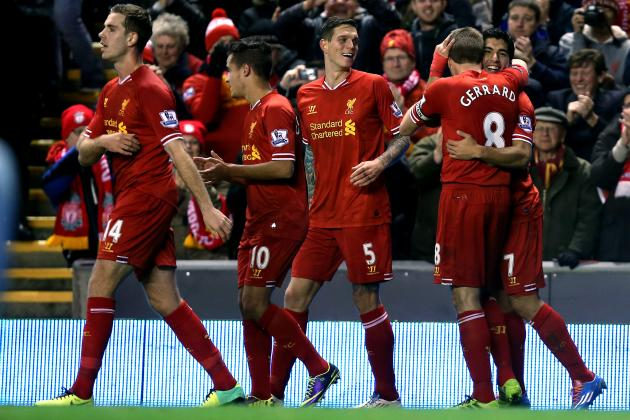 Liverpool vs. West Ham: Date, Time, Live Stream, TV Info and Preview