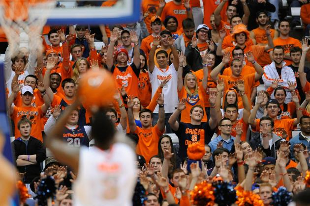Witness to Carrier Dome's Indiana Underwear Girl: 'It Was Really Awkward'