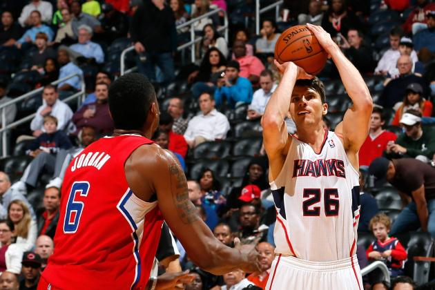 Atlanta Hawks Swingman Kyle Korver Ties All-Time NBA 3-Point Record