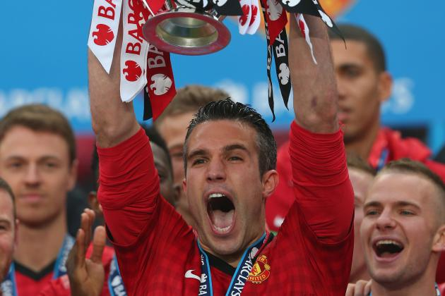The Story of Robin Van Persie's Manchester United Career in 10 Games