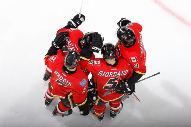 Flames Upend Coyotes for Rare Victory on Home Ice