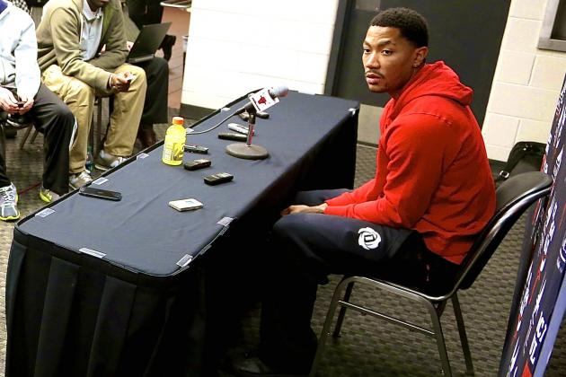 Derrick Rose Not Ready to Exit Stage Left, Yet