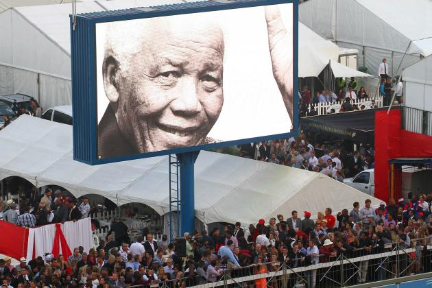 Athletes React to Passing of Nelson Mandela