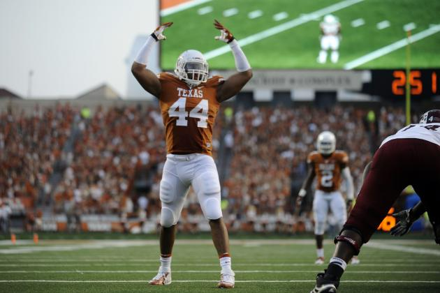 Texas Football: Win over Baylor Should Seal Defensive POY for Jackson Jeffcoat