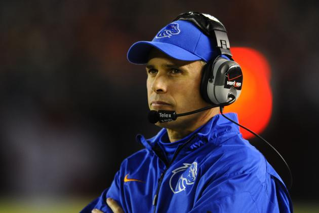 Reports: Boise State's Chris Petersen to Interview for Washington Job
