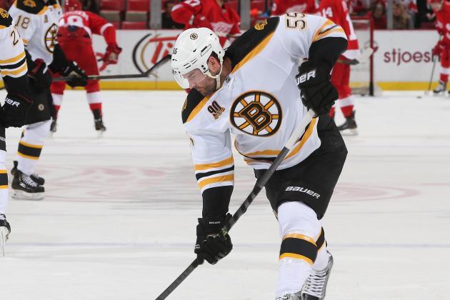 Johnny Boychuk Stretchered off vs. Canadiens