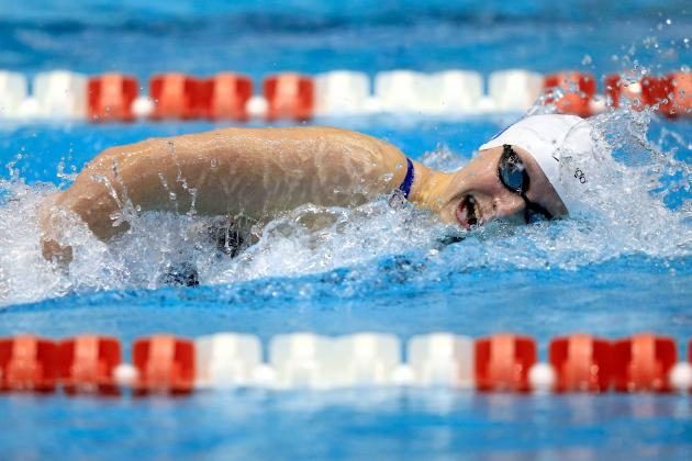 Ledecky Wins 500 Freestyle at Winter Nationals