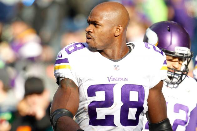 Adrian Peterson Says He's Thought About Finishing NFL Career with Dallas Cowboys