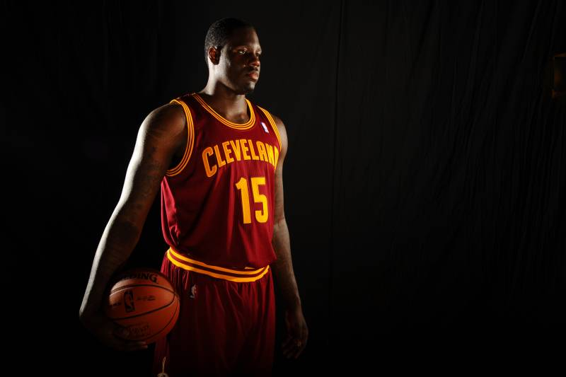 031eb4c53bf8 ... NY - AUGUST 6 Anthony Bennett 15 of the Cleveland Cavaliers poses ...