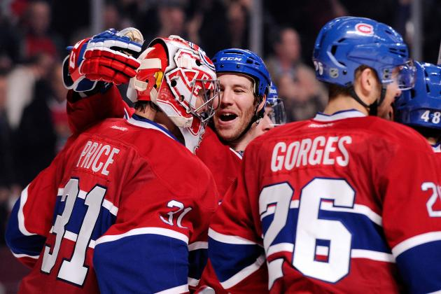 Canadiens Move Atop the Atlantic Division with Win over Rival Bruins