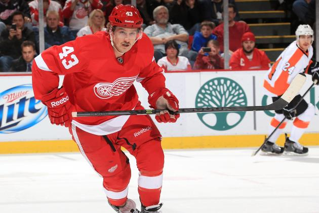Darren Helm to Miss Detroit Red Wings' Weekend Games