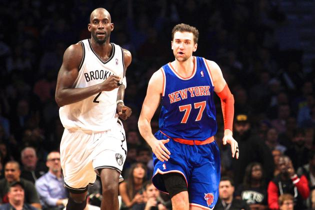Knicks' Andrea Bargnani Ejected for Trash-Talking Nets' Kevin Garnett