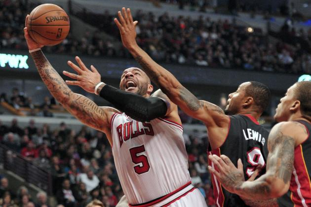 Miami Heat vs. Chicago Bulls: Postgame Grades and Analysis