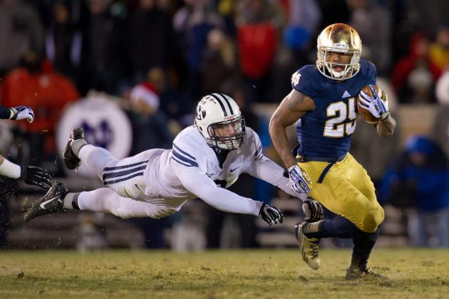 Full House: An Early Look at Notre Dame's Spring Battle at Running Back