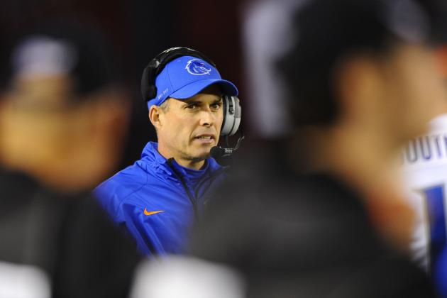 Boise State Football: Head Coach Chris Petersen Met with Washington AD