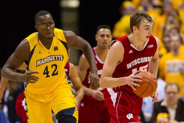 Wisconsin Badgers vs. Marquette Golden Eagles Starting Lineups, Preview