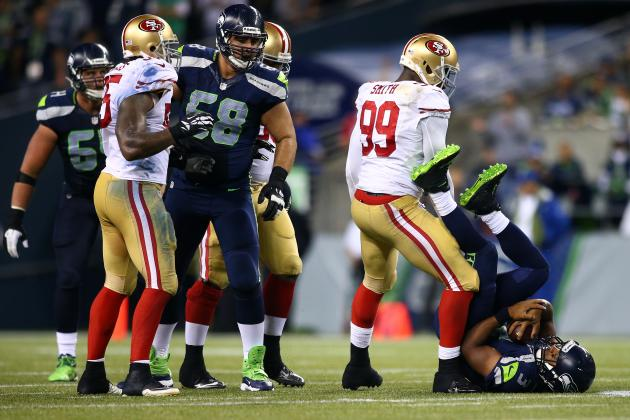 San Francisco 49ers: Why Pass Rush, Pass Protection Are Keys Against Seahawks