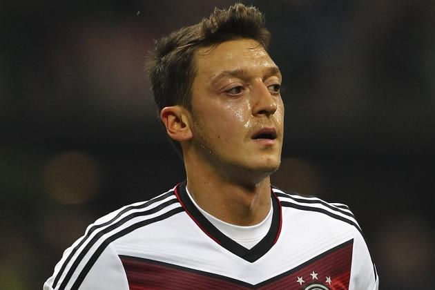 Mesut Ozil Is Curious About the World Cup Draw in Brazil