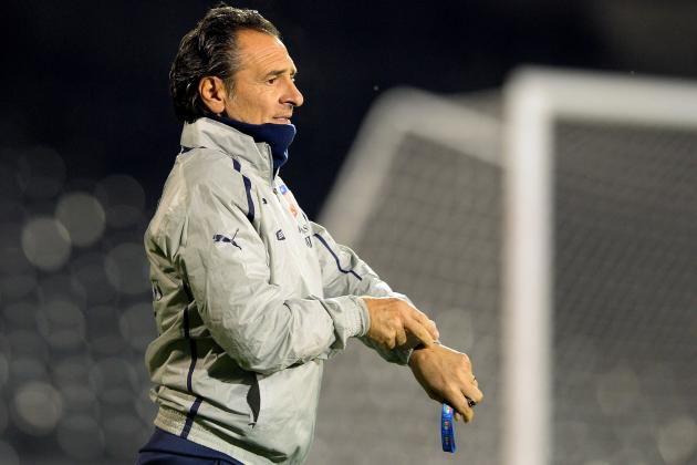 Italy Boss Cesare Prandelli Slams 'Ridiculous' World Cup Draw
