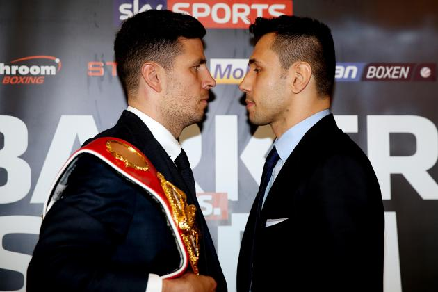 Felix Sturm vs. Darren Barker: Full Preview and Start Time