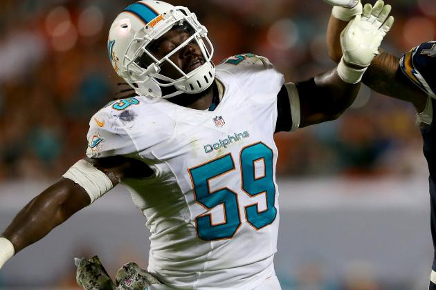 Dannell Ellerbe Finally Settling into Miami Dolphins' Defensive Scheme