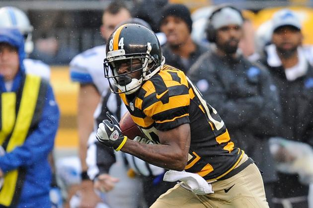Steelers' Antonio Brown Makes Most of Mike Wallace's Departure