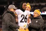 Le'Veon Bell Clears Concussion Tests, to Play Sunday