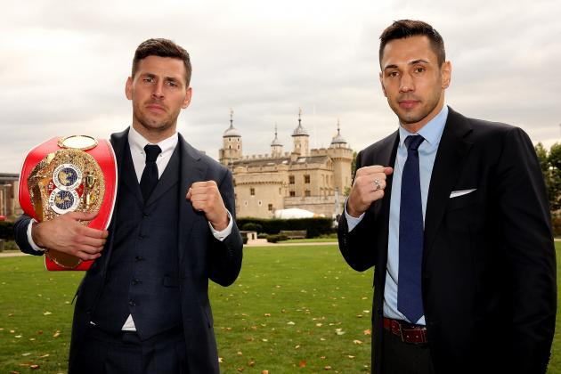 Darren Barker vs. Felix Sturm: Complete Weigh-in Results from Pre-Fight Event