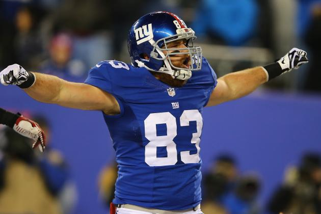 Giants TE Brandon Myers Hoping to Improve on the Positive