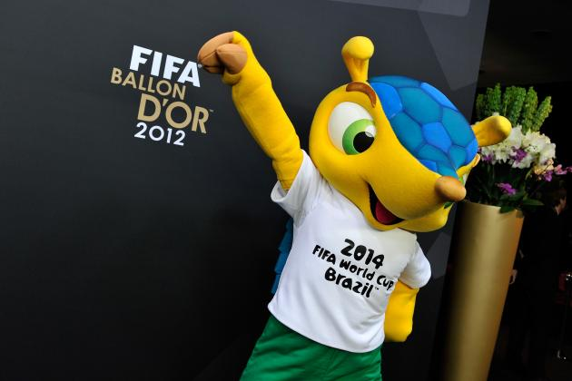 GIF: World Cup Armadillo Mascot Fuleco Has Got Awesome Dance Moves