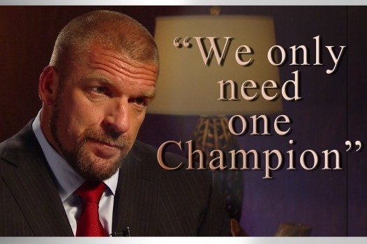 Triple H Will Walk out of the TLC Pay-Per-View as the Undisputed WWE Champion