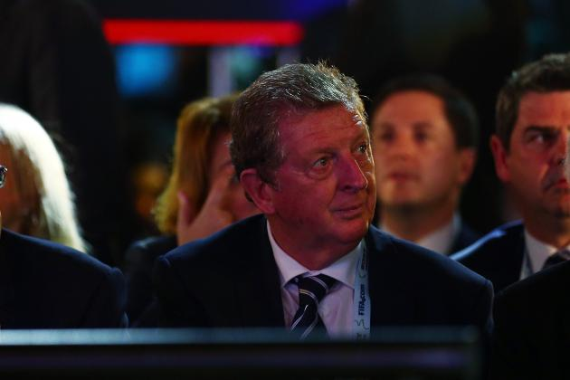 GIF: Roy Hodgson's Face, Greg Dyke's Throat Slit Gesture at England Draw