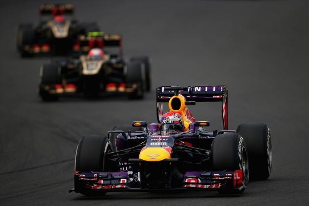 Red Bull and Lotus Got the Most Value for Their Money in the 2013 F1 Season