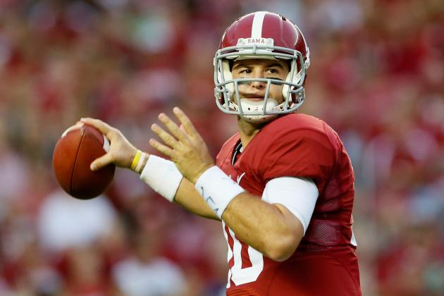 Don't Buy the Draft Hype on Alabama QB AJ McCarron