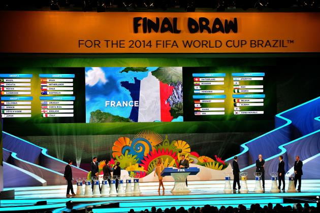 World Cup Odds 2014: Updated Chances for Each Country Following Draw