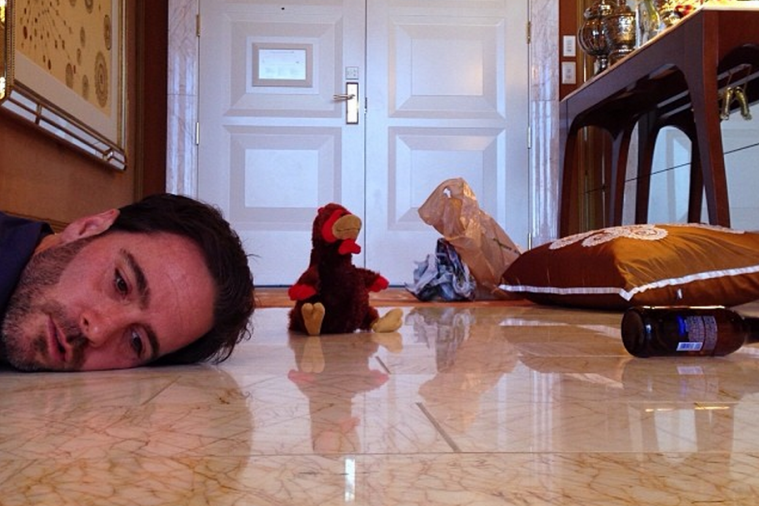 Jimmie Johnson Recreates Scenes from 'The Hangover' on His Vegas Trip