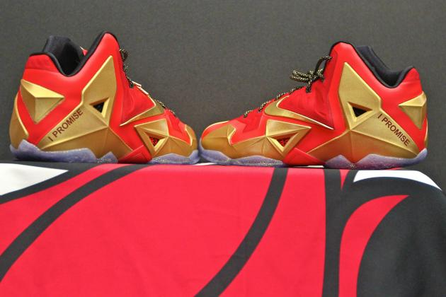 Nike Heads Back to the Drawing Board for LeBron James' Pair of New LeBron 11s
