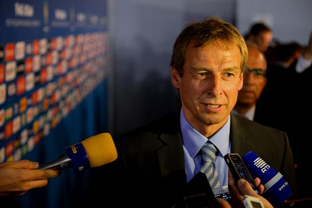 Klinsmann Says Group at 2014 World Cup 'Couldn't Get Any More Difficult'