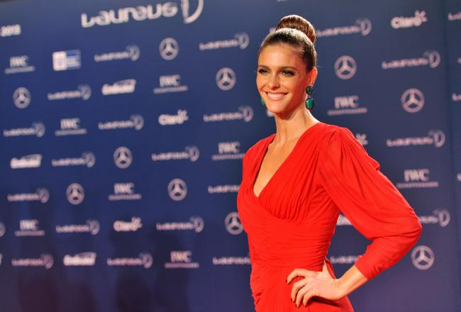 Fernanda Lima Wows Global Audience at 2014 World Cup Draw (Photos)