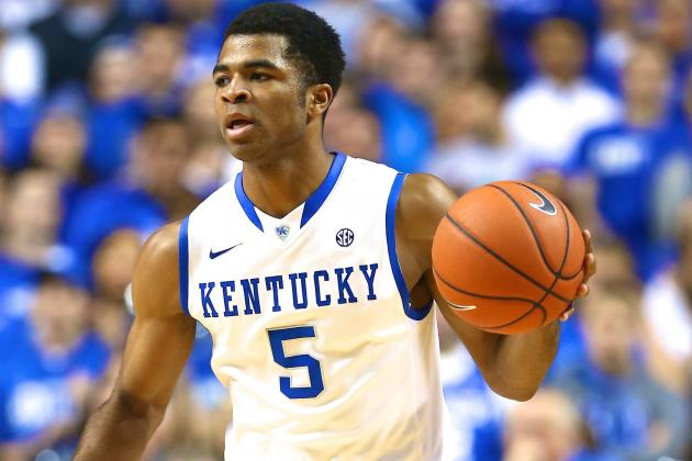 Kentucky Basketball: Why Andrew Harrison Is 'Cats' Biggest X-Factor vs. Baylor