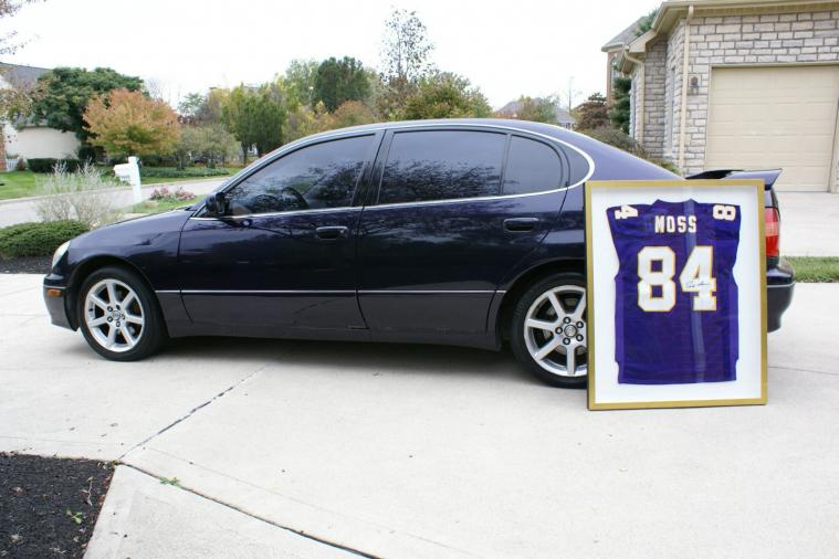 Randy Moss' Purple Lexus from His Vikings Playing Days Is for Sale